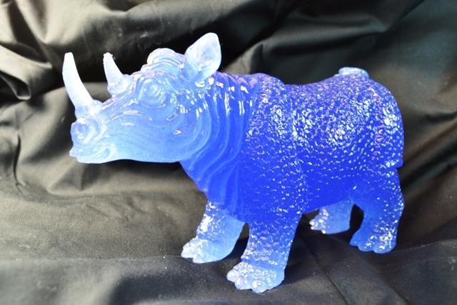 Blue Feng Shui Rhino